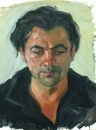 Painting «Portret», aughtor Nadtochiy Alikas, 0 UAH.
